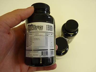Male Extra Supplement Facts