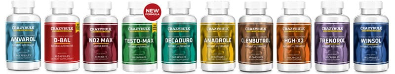 CrazyBulk Products